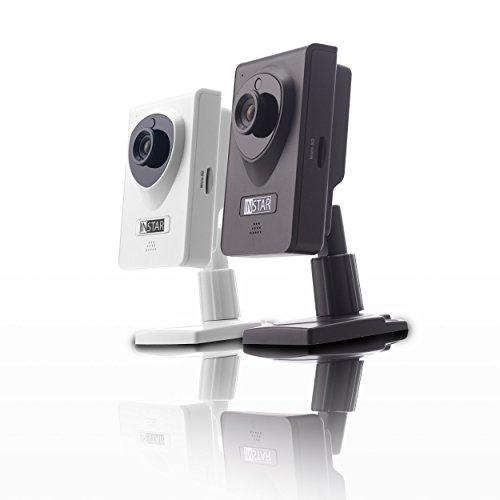 INSTAR IN-6001HD HD IP Kamera / Überwachungskamera / ipcam mit LAN / Wlan / Wifi zur Überwachung oder als Baby Kamera (4 IR LED Infrarot Nachtsicht - 4