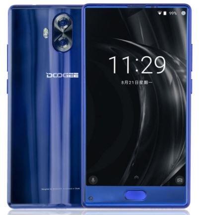 DOOGEE Mix Lite - 5.2 Zoll Bezel-less HD-Bildschirm Android 7.0 4G Smartphone, Quad-Core 1.45GHz 2GB + 16GB, Dreifach-Kameras (8MP + 13MP + 13MP) - Blau