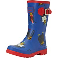 Joules Boys' Jnr Printed Welly Wellington Boots