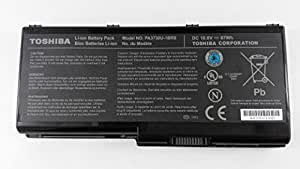 RTS GENUIEN Batterie d'origine pour ordinateur portable Toshiba Qosmio X500 X60 G60 Pa3729U - 1BAS Pa3729U - 1BRS Pa3730U - 1BAS Pa3730U 1BRS PaBAS207 10,8 V) - 9 cellules 87 (expédition)