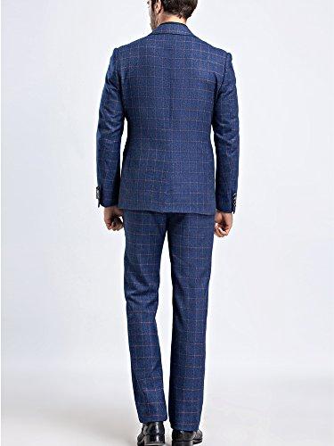 Tsui-Fashion - Costume - Slim - Homme Bleu Marine