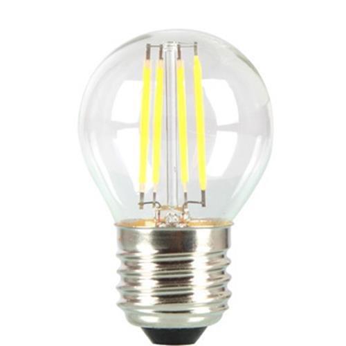 V-TAC LED Birne G45 E27, 4 W, Filament, 2700K, 400 lm, 300D, Glas 4306
