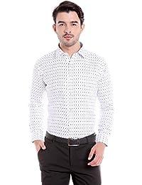 Donear NXG Mens Formal Shirt_SHIRT-1339-WHITE