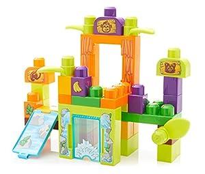 Mega- Bloques de Construcción de Juguete para Bebé, Multicolor (Mattel FFG42)