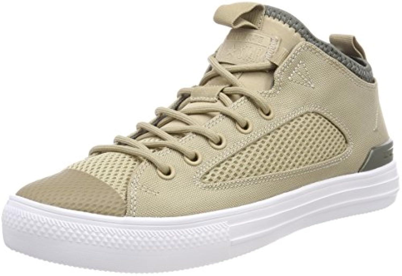 Converse Unisex Erwachsene CTAS Ultra OX Vintage Khaki/River Rock Hohe Sneaker