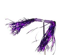 SCOOT - Serpentinas súper largas para manillar de patinete (púrpura)