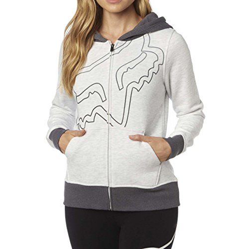 Fox Damen Eyecon Zip Fleece Hooded Sweatshirt Grün