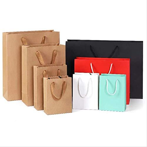 Geschenktüte Papiertasche Geschenktasche Großhandel Kleidung Handtasche Druck Kraft Papiertasche Custom Verpackungstasche -