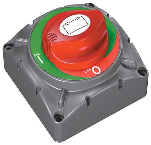 Marinco 69–720Schalter Batterie Heavy Duty 720Contour, grau/rot, Einheitsgröße
