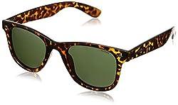 Polaroid Polarized Wayfarer Mens Sunglasses - (PLD 1016/S V08 50H8|50|Green Color)