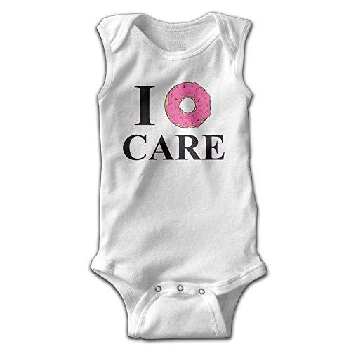 xcvgcxcvasda Ärmelloser Strampler für Babys I Donut Care Baby Sleeveless Romper Bodysuit Jumpsuit Cotton Comfortable Cute Pattern Carters Striped Body