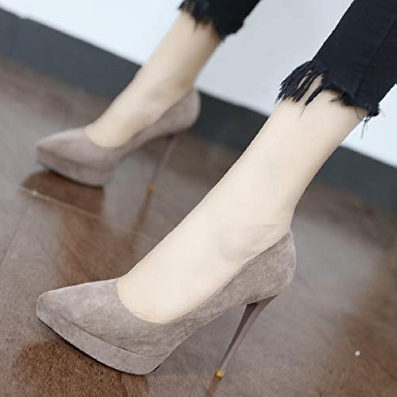YMFIE Scarpe da donna con tacco alto a punta punta punta temperamento sexy europeo, 34 EU, A | economia  e0d0fe