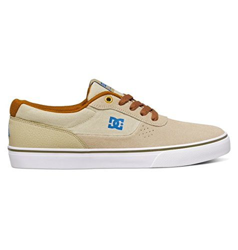 DC Shoes Switch S - Chaussures de Skate Pour Homme ADYS300104 Taupe