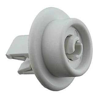 Zanussi Original Unterer Korb Rad und Pivot Pin passend für AEG f44740/f54730/fav54730/Electrolux Esl4/Tricity Bendix bdw45/dh090/DA4/DE4/zdt5052Serie