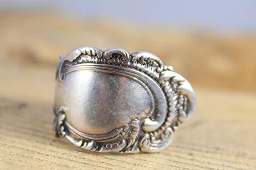 Rokoko Besteckschmuck Ring, Größe 53 (16,8) Ring aus Besteck