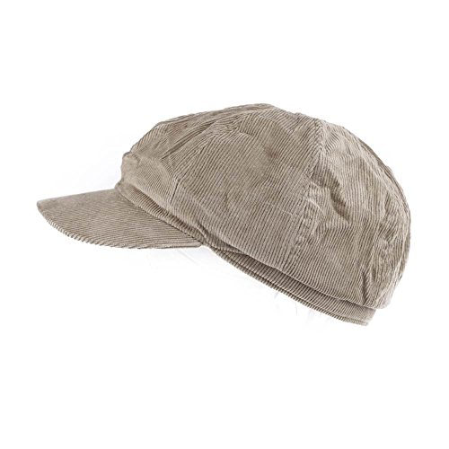 Cordmütze Schirmmütze Flatcap Herrenflatcap Herbstmütze Sommermütze Golfermütze Jagd Mütze Cord Cap Plano Kappe alle Farben (21010-004-000)