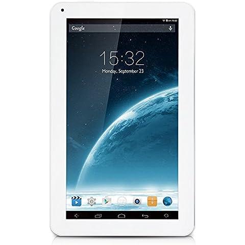 iRULU eXpro X1s - Tablet 10.1 pulgadas, Google Andorid 5.1 Lollipop, procesador de cuatro núcleos, 16GB Nand Flash, resolución 1024x600 HD, Color
