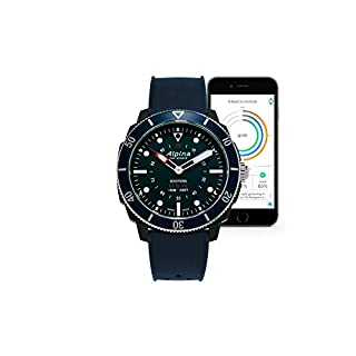 Alpina Seastrong Horological Smartwatch Navyblau