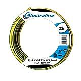 Electraline 13172Cable unipolar FS17, sección 1x 2.5mm², Azul, 25m