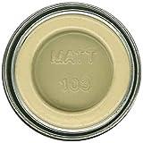 Humbrol 14ml No. 1 Tinlet Enamel Paint 103 (Cream Matt)