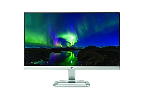HP 24es 24 inch LCD Monitor 1920 x 1080 Pixel total HD FHD IPS 7 ms HDMI VGA Black and Silver Monitors