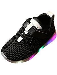 Amlaiworld Regalo Bambine Scarpe LED Ragazzi ragazze scarpe Light Running Scarpe luminose