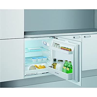 Indesit ILA1 60cm Wide Integrated Under Counter Larder Fridge - White