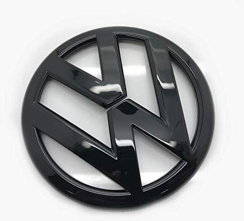 Schwarz glänzend 110mm Rückseite Boot Lid Tailgate Trunk Abzeichen Emblem Für Golf 7 MK7 2012-2019+