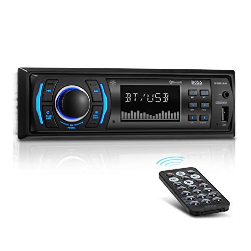 BOSS Audio 616UAB Single-DIN MECH-Less Multimedia Player (ohne CD/DVD) - Boss Dvd-player