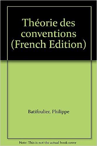Lire Théorie des conventions pdf ebook