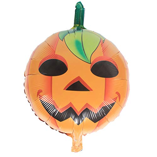 TOYMYTOY Happy Halloween Aluminum Foil Balloons Set - Pumpkin Witch Bat Balloons Kit for Home Party Bar Club