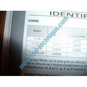 REVUE TECHNIQUE AUTOMOBILE RENAULT MEGANE II depuis 01/2006 Essence 1.4i 16V et Diesel 1.5l dCi RRTAB0716.5