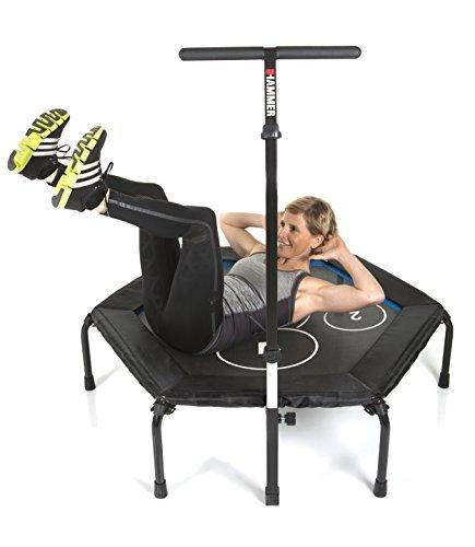 Hammer Fitness-Trampolin Cross Jump, 98 cm...