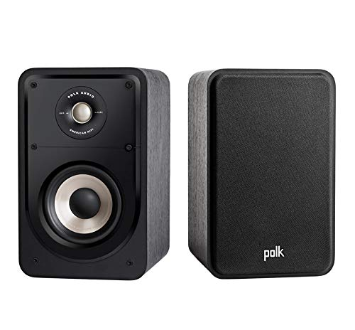 Polk Monitor Serie (Polk Audio S15E Signature Series Regallautsprecher (Paar) - schwarz)