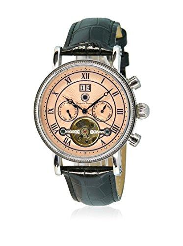 Constantin Durmont orologio da uomo, XL, Toledo, Analogico, meccanismo automatico, in pelle CD-TOLE-AT-LT-STST-PK