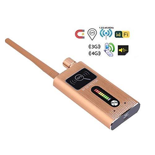 Anti-Spion Wireless RF Signal Detector, versteckte Kamera Bug Detector GPS Tracker Radar Radar Scanner GSM Abhörgerät Finder (Ultrahohe Empfindlichkeit)
