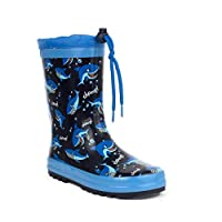 Wellygogs Kids Blue Shark Welly