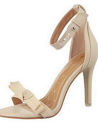 WSS 2016 Chaussures Femme-Décontracté-Bleu / Rose / Rouge / Gris / Beige-Gros Talon-Talons-Talons-Laine synthétique pink-us8 / eu39 / uk6 / cn39