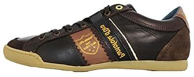 Pantofola d'Oro  Pesaro Dandy Low Men, Chaussures de ville à lacets pour homme Marron marron - Marron - marron, 44.5