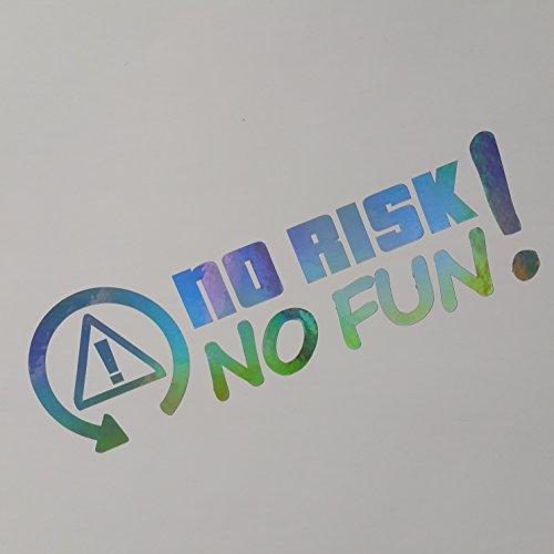 No Risk no Fun Farbwechsel flip Flop Shocker Hand Auto Aufkleber JDM Tuning OEM DUB Decal Stickerbomb Bombing fun Turbolader
