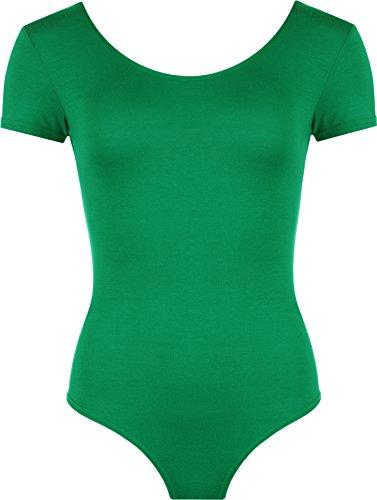 WearAll - Damen elastischer Body Top - Jade - 36-38