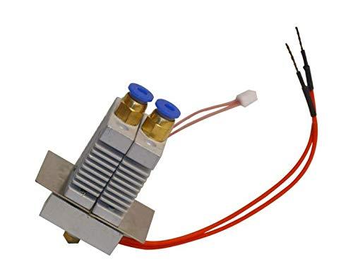 GIANTARM - Extrusor de color 2 en 1 para impresora 3D A10M A20M M201, kit Hotend para 0,4 mm, 1,75 mm