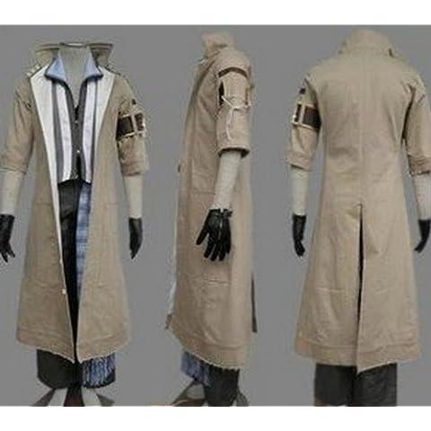 Vivian Final Fantasy Xiii Villiers cosplay costume (Può essere personalizzato),taglia L (altezza 165-170 cm,60-70 (Costumi Final Fantasy Cosplay)