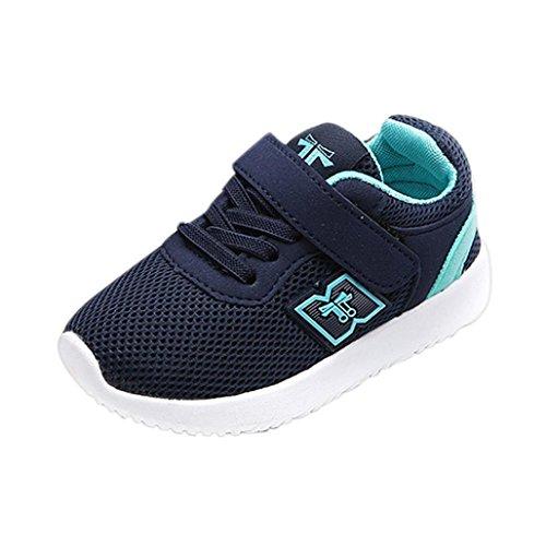 Oyedens Mode Unisex Enfants Baskets Garçons et Filles Respirant Maille Chaussures de Sport Antidérapantes Chaussures De Course Outdoor Sneakers Bébé Garçon Fille Sport Runing Shoes