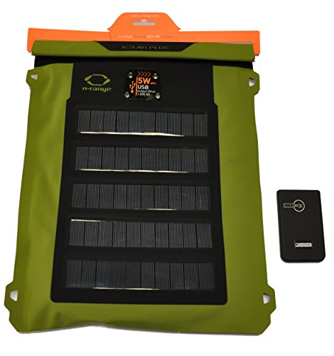Orange Zaino SOLAR Sack 5W Water Resistant con...