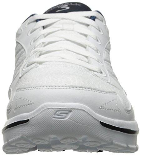 Skechers Go Walk 3, scarpe da ginnastica da donna White/navy