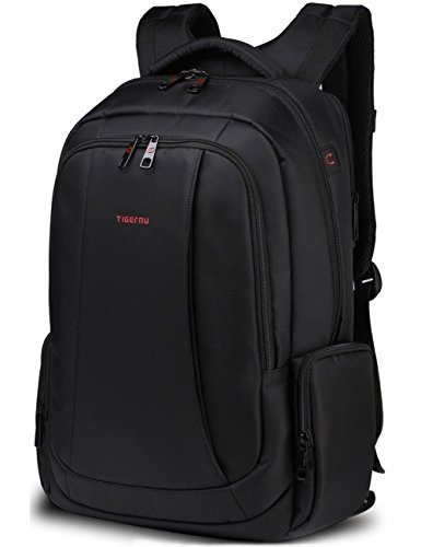 Norsens 17 inch Laptop Backpack for Men Lightweight Business Computer Notebook Backpacks in Black
