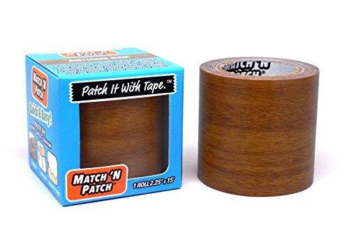 FORTIS Design, Inc. Match 'n Patch Realistische Reparatur-Klebeband, Eiche Antik -