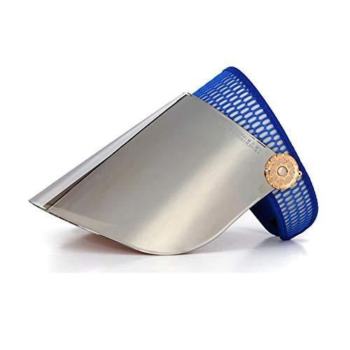 WYJW Sonnenhüte polarisierte Leere Zylinder Visor UV-Schutz einstellbar Wandern Golf Tennis im Freien Angeln Materialien PC (Farbe: 16) Golf Visor Haar