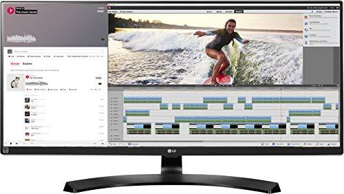 LG IT Products 34UM88C-P.AEU 86,36 cm (34 Zoll) Monitor (HDMI, DisplayPort, USB, 5 ms) schwarz